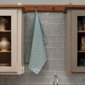 Madelaine Sage Tea Towel - kitchen accessories