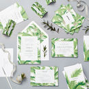 Tropical Wedding Stationery Sample Pack