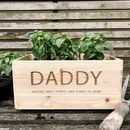Personalised Indoor Planter Box