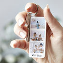 Personalised Photo Strip Keyring