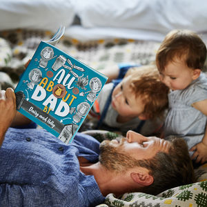 'My Dad' Personalised Book For Fathers - gifts for children