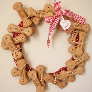 Personlised Dog Advent Calendar - wreaths