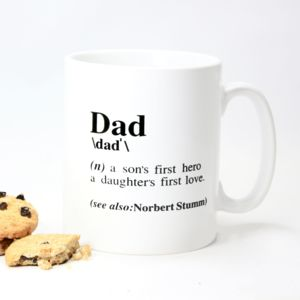 Personalised 'Dad' Gift Mug