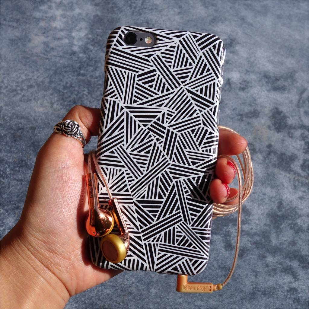 Monochrome Marks Phone Case