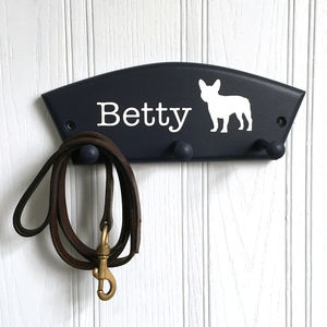 French Bulldog Lead Holder - dog walking accessories