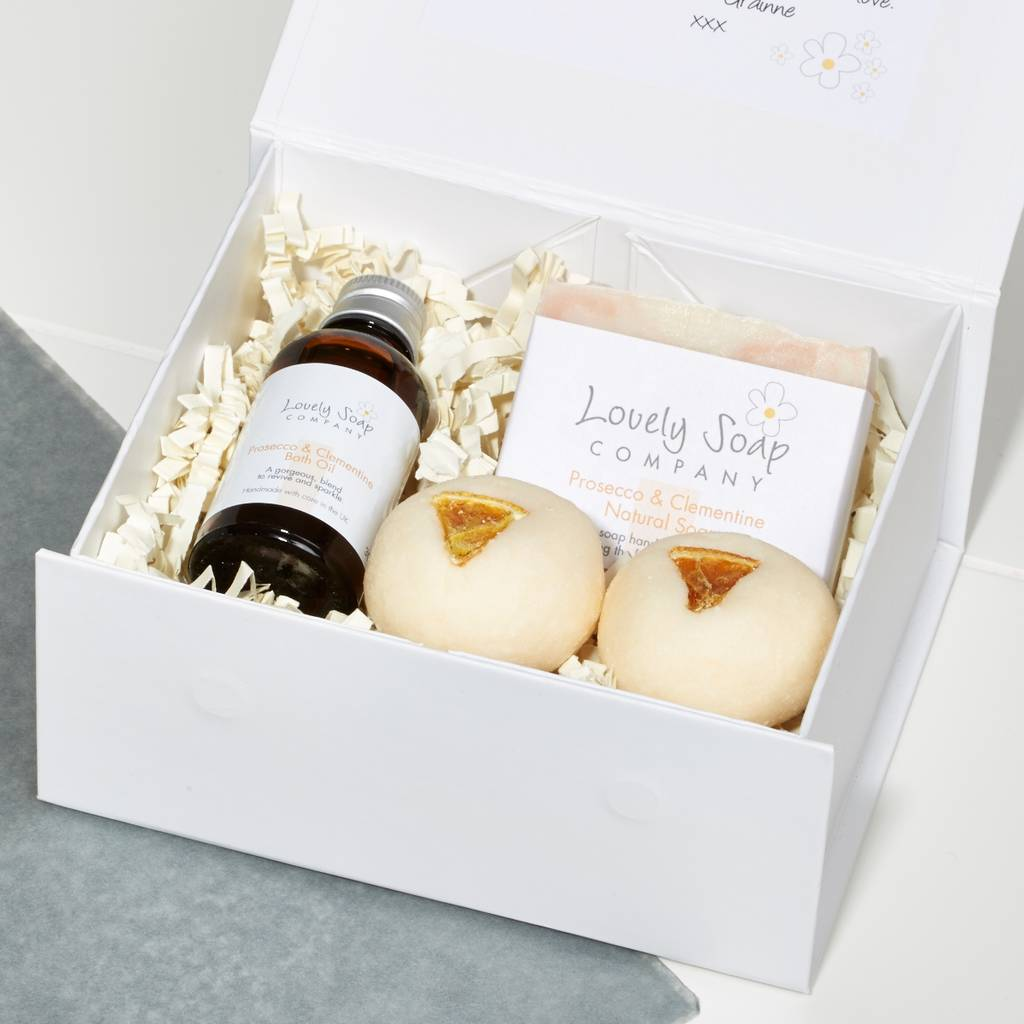 Personalised Prosecco Pamper Collection Gift Set By Lovely