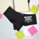 Smarty Pants Personalised Exam Result Underwear