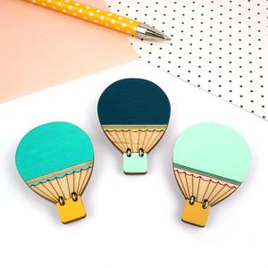 Hot Air Balloon Brooch