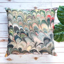 Marble Velvet Cushion Cover