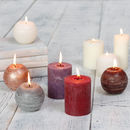 Scented Christmas Candle Collection