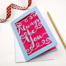 Papercut Always Be You Card