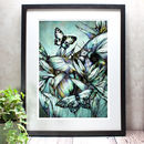 Tropical Beetle Limited Edition Mounted Giclée Print
