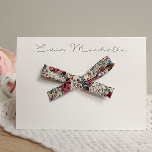Grande Liberty Floral Bow - hair accessories