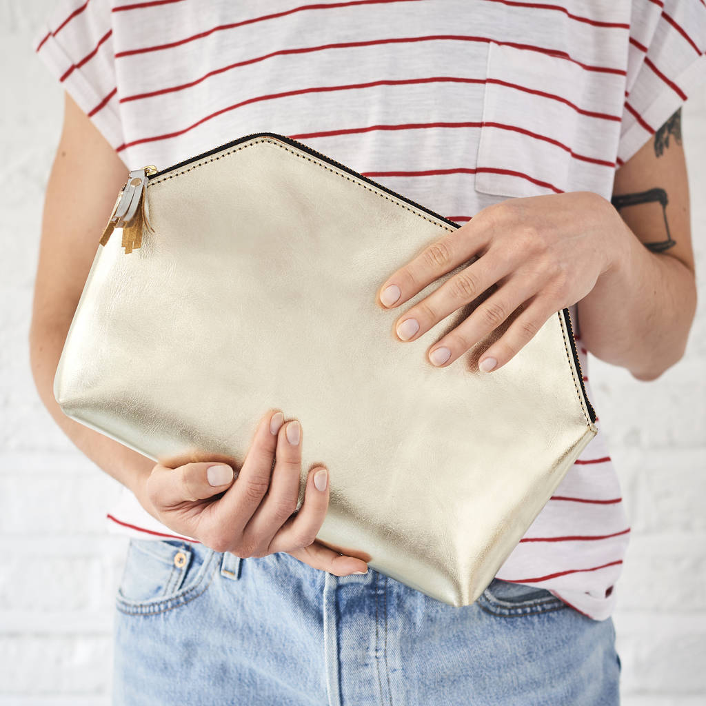 Statement Clutch - Fire Stone by VIDA VIDA FXKiifHXFJ