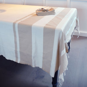 Constance Tablecloth Set With Six Napkins - bed, bath & table linen