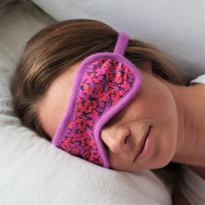 Liberty Print Cashmere Eye Mask - beauty accessories