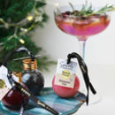 Flavoured Gin Christmas Bauble With Sparkle Dust