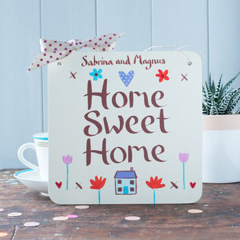 New Home Sign a perfect moving in together gift