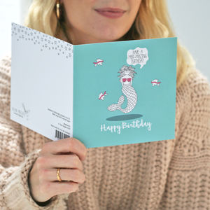 Mer Mazing Birthday Card
