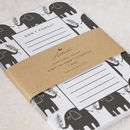 Don't Forget Elephant A5 Notepad