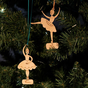 Personalised Hers And Hers Christmas Decorations