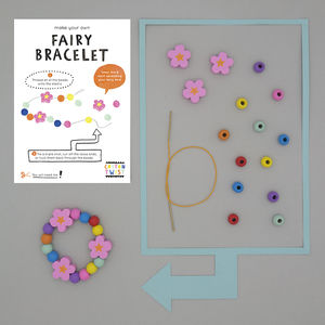 Make Your Own Fairy Bracelet Kit - wedding day activities