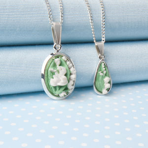 Two Designs Of Lily Of The Valley Pendant Necklace - necklaces & pendants