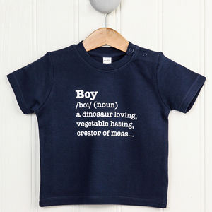 Boy Definition T Shirt - clothing