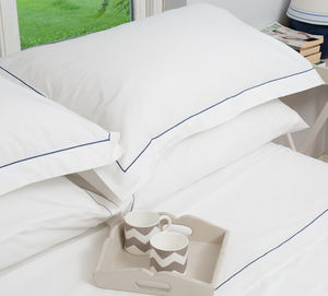 Embroidered Pillowcases - bed linen