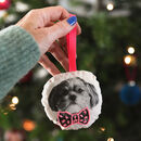 Embroidered Dog Hanging Decoration