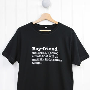 Boyfriend Definition T Shirt