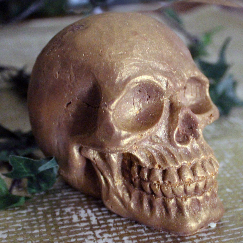 Giant Chocolate Skull
