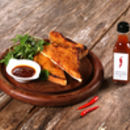 chilli sauce chillichup cheese on toast recipe