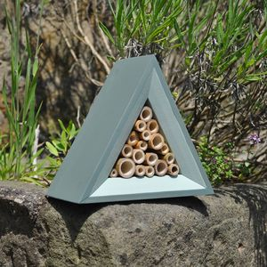 Handmade Bee Hotel - gifts for him