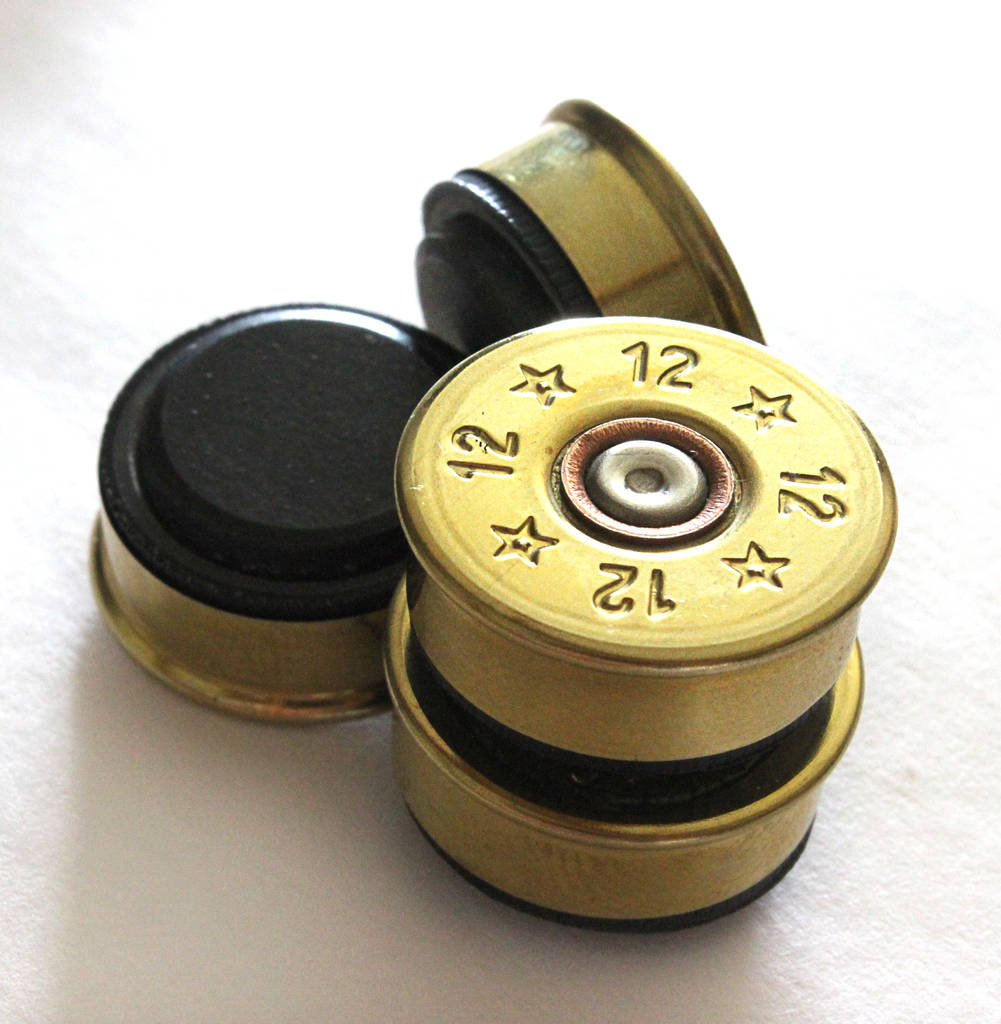 Genuine Shotgun Cartridge Magnets By Bourneys