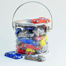 Bucket Of Chocolate Sports Cars