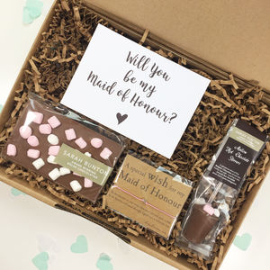 Will You Be My Maid Of Honour Gift Box - new in food & drink