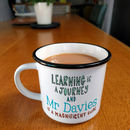 Personalised Thank You Teacher Mug