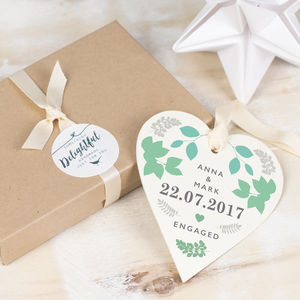 Engagement Keepsake Gift - gifts for couples