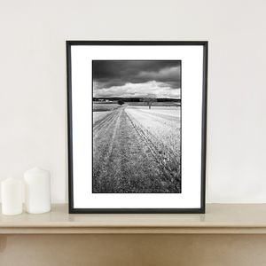 Crop Field, Couziers Photographic Art Print