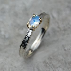 Cinderella Gemstone Birthstone Ring