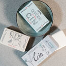 Gin Soap Bar Trio