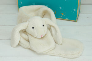 Cream Bunny Scarf - hats, scarves & gloves