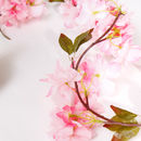 Artificial Pink Spring Blossom Garland