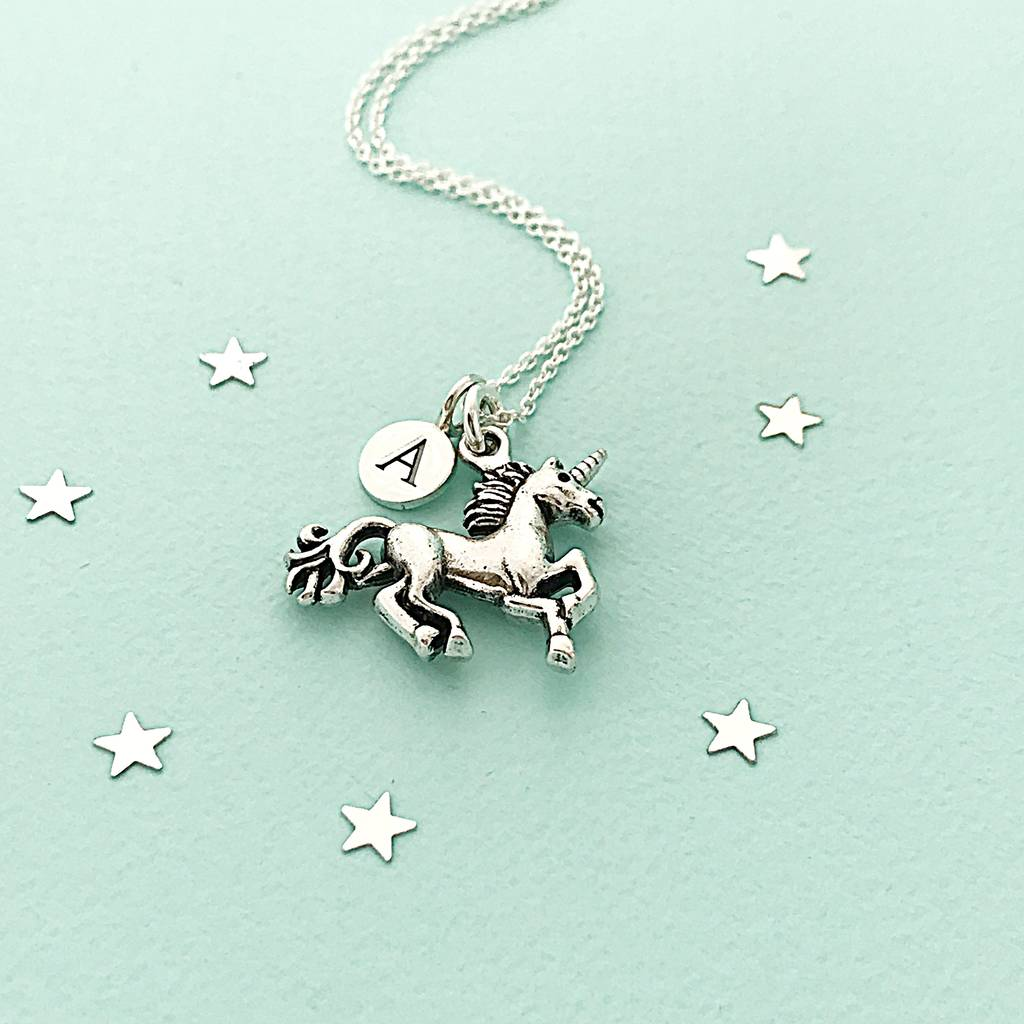 pendant unicorn necklace gold product