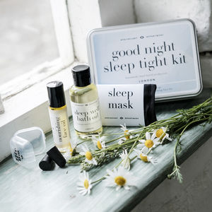 'Good Night Sleep Tight' Essential Oils And Accessories - gift sets