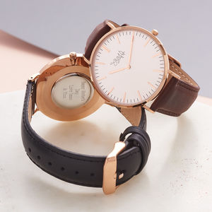 Ladies' Rose Gold Watch