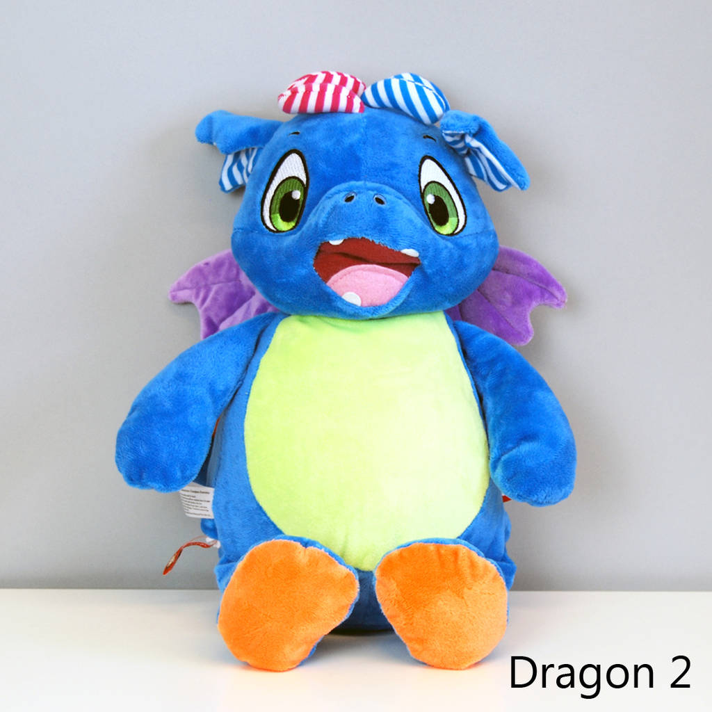 b401e1f033 personalised new baby dragon soft toy by simply colors ...