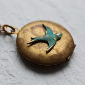 Bird Locket - lockets