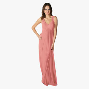Bridesmaids Chanda Mesh Dress - bridesmaid dresses